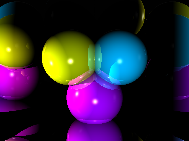 A real time raytracer